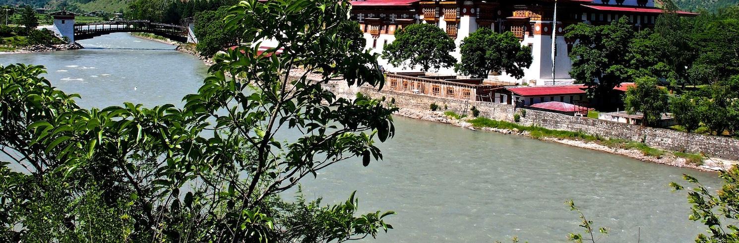 Punaka, Butanas