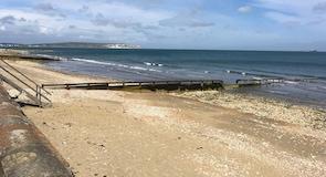 Pláž Shanklin