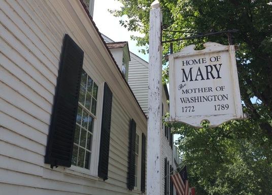 Old Town Fredericksburg, Virginia, Amerika Serikat