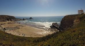 Praia da Zambujeira do Marin ranta