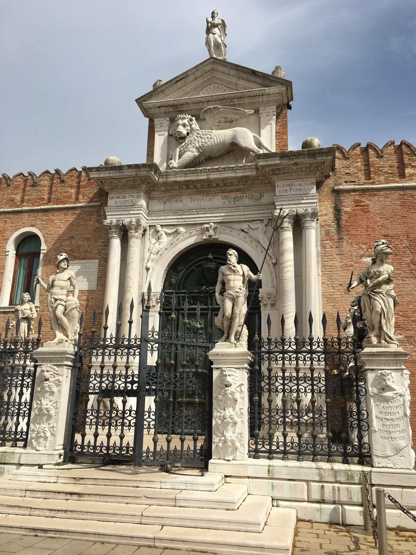 Arsenaal van Venetië, Venetië, Veneto, Italië