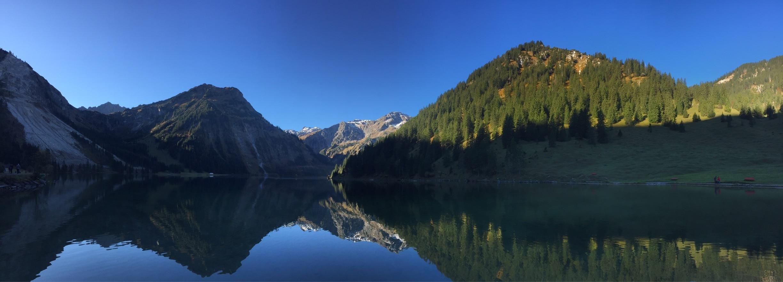 Vilsalpsee, Tannheim, Tirol, Österreich