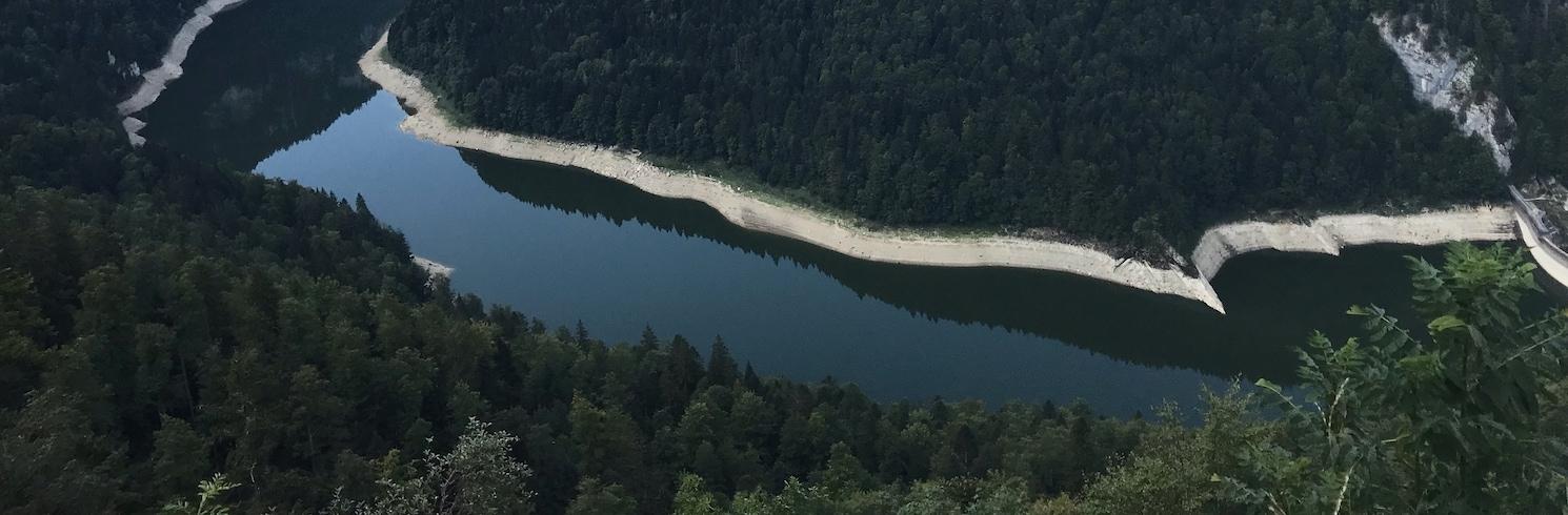 Ле-Планшет, Швейцария