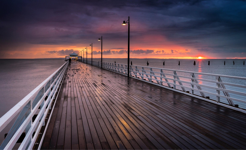 Shorncliffe Beach, Brisbane, Queensland, Australia