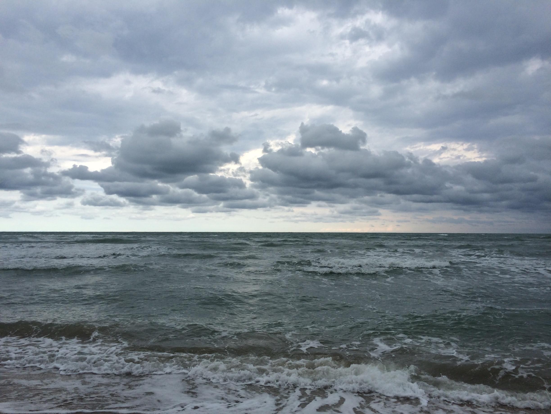 Spiaggia di Ponente, Pesaro, Marche, Italy