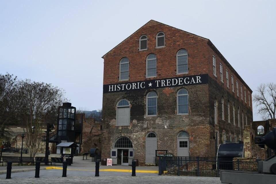 Amerikaans Burgeroorlogcentrum bij historisch Tredegar, Richmond, Virginia, Verenigde Staten