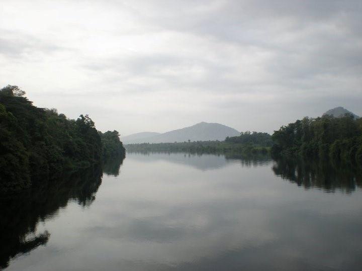 Vogelschutzgebiet Thattekad, Devikolam, Kerala, Indien