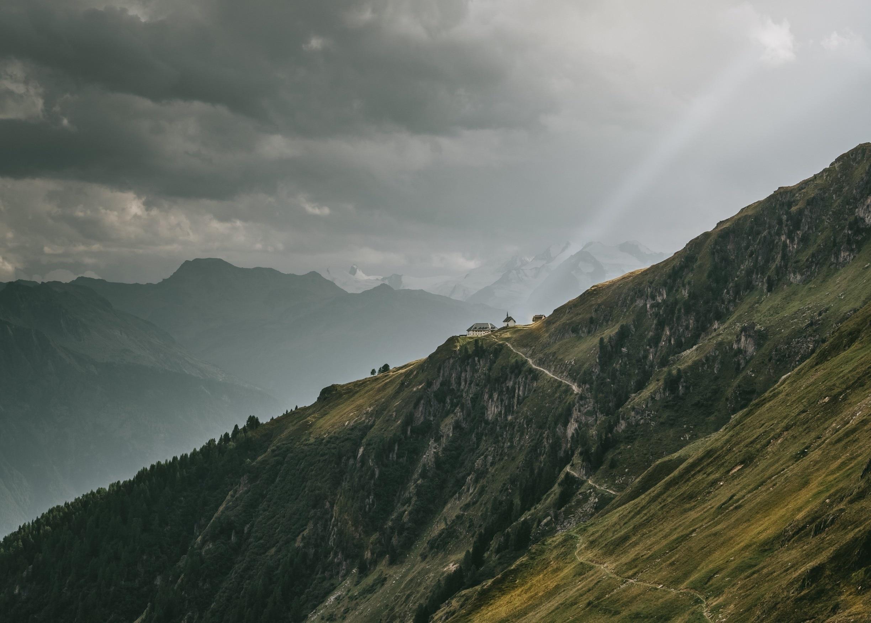 Blatten bei Naters, Naters, Wallis, Schweiz