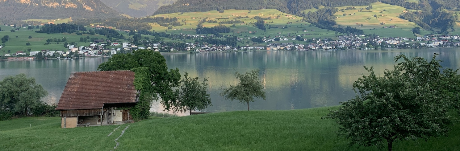 Lake Sarnen, Switzerland