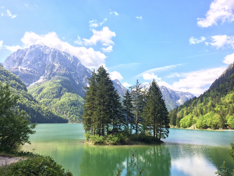 Predil Lake, Tarvisio, Friuli Venezia Giulia, Italy