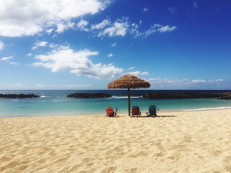 Honu Lagoon, Kapolei, Hawaii, United States of America
