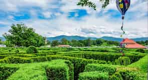 The Garden Maze at Luray Caverns