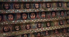 Debre Birhan Selassie kirkjan