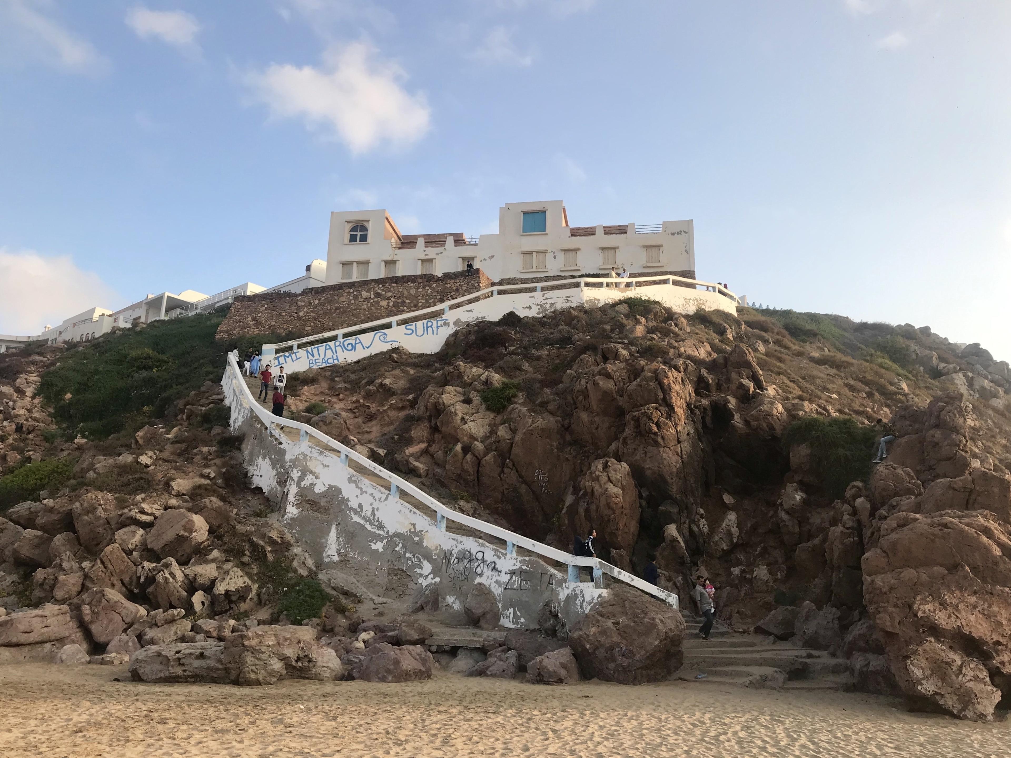 Strand Mirleft, Mirleft, Guelmim-Oued Noun, Marokko