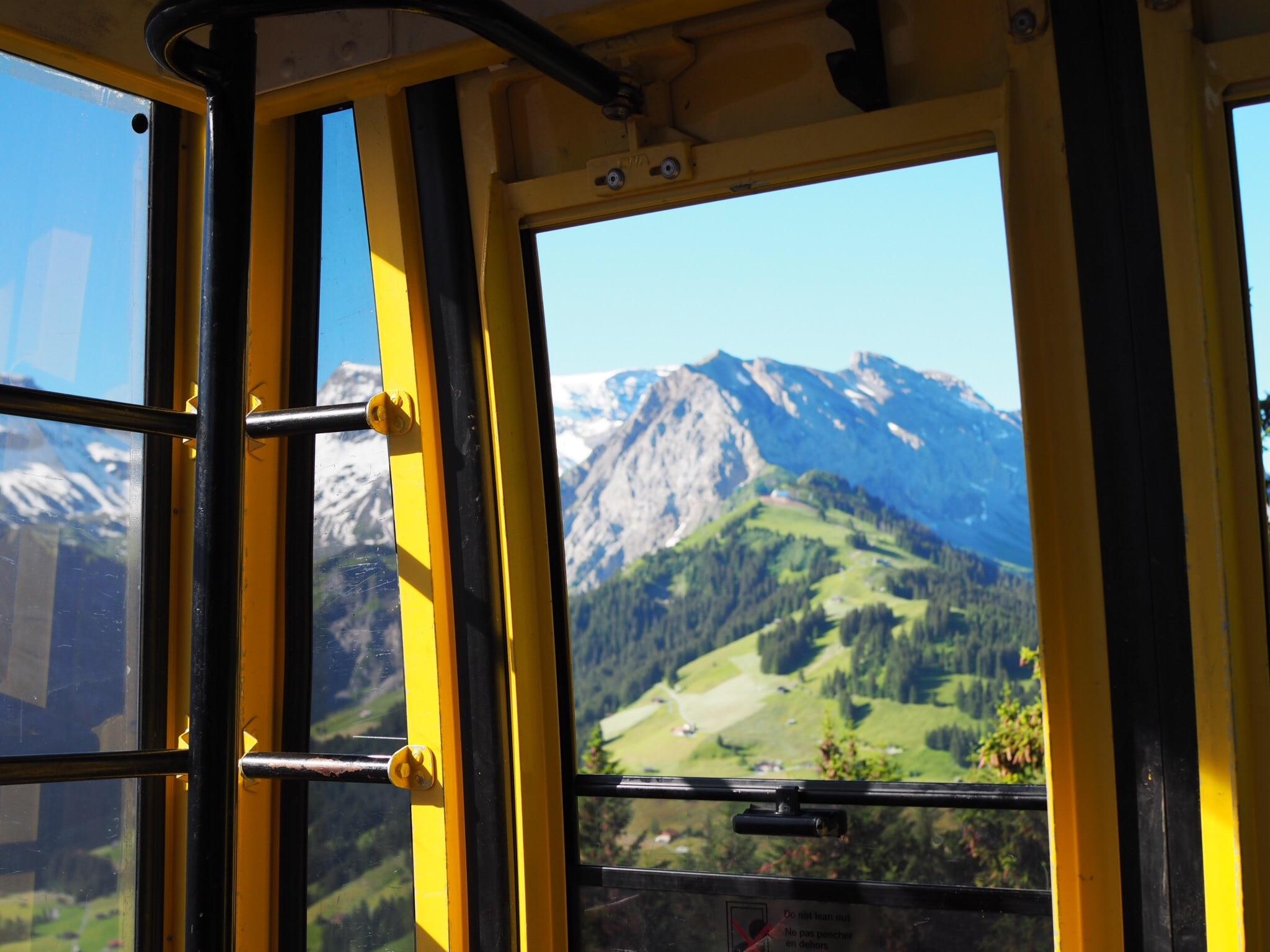 Tschentenbahn, Adelboden, Canton of Bern, Switzerland