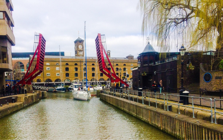 St Katherine's Dock, London, England, Großbritannien