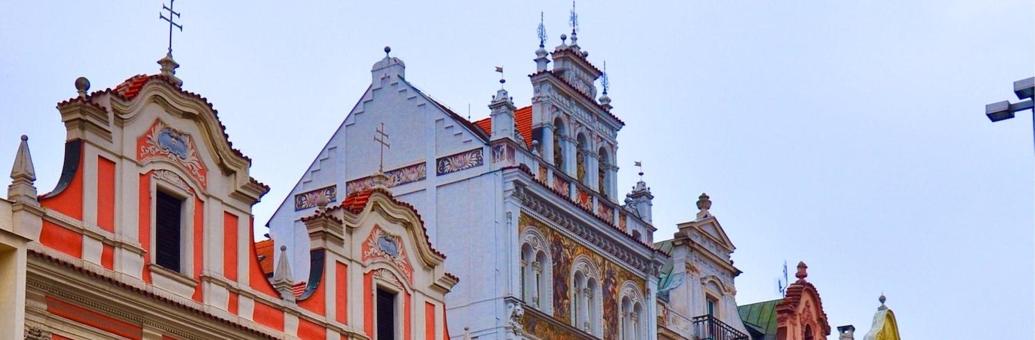 Old Town Plzen, Czech Republic