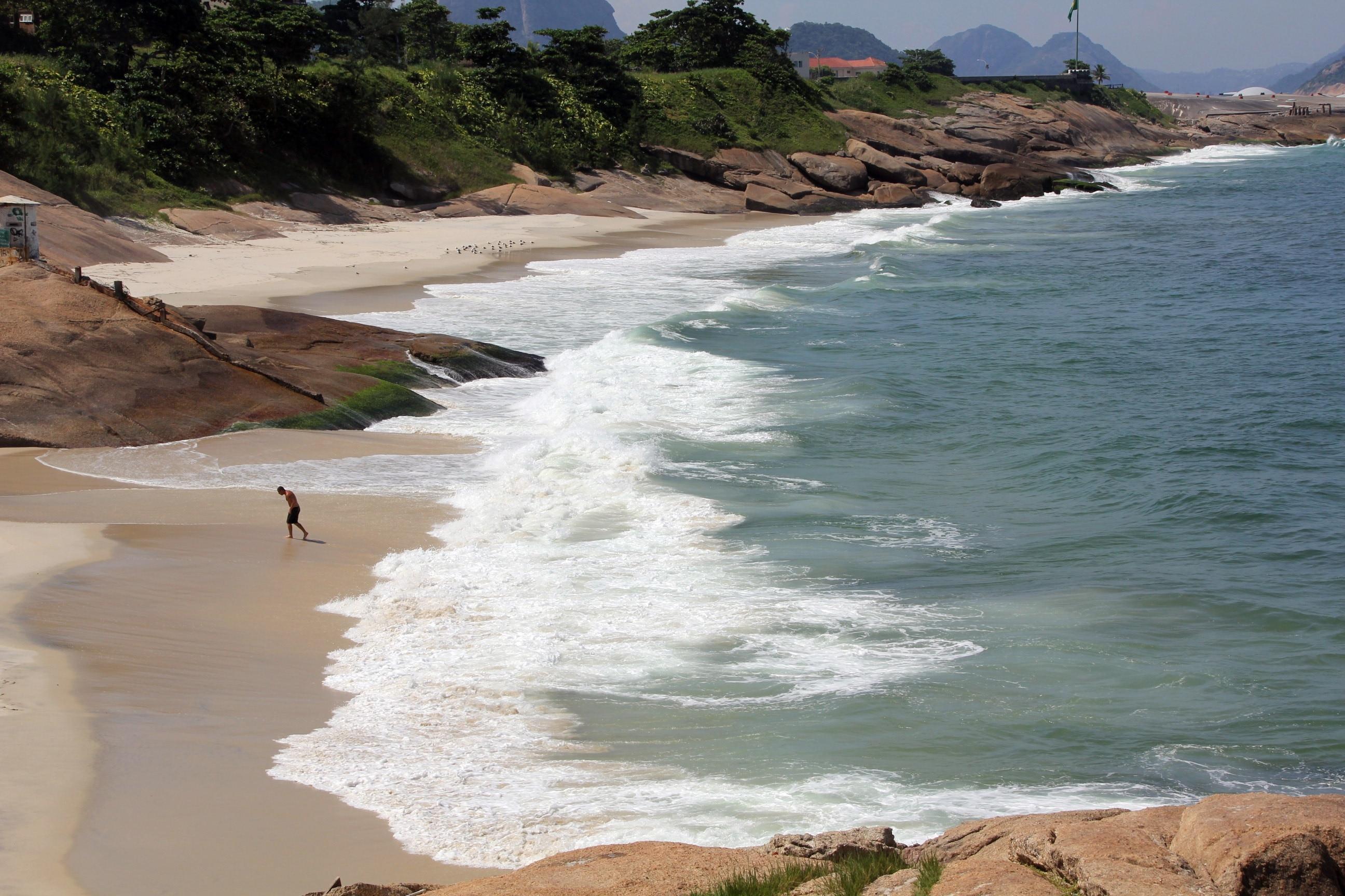 Praia do Diabo, Rio de Janeiro, Bundesstaat Rio de Janeiro, Brasilien
