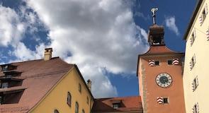Centro de la ciudad de Ratisbona