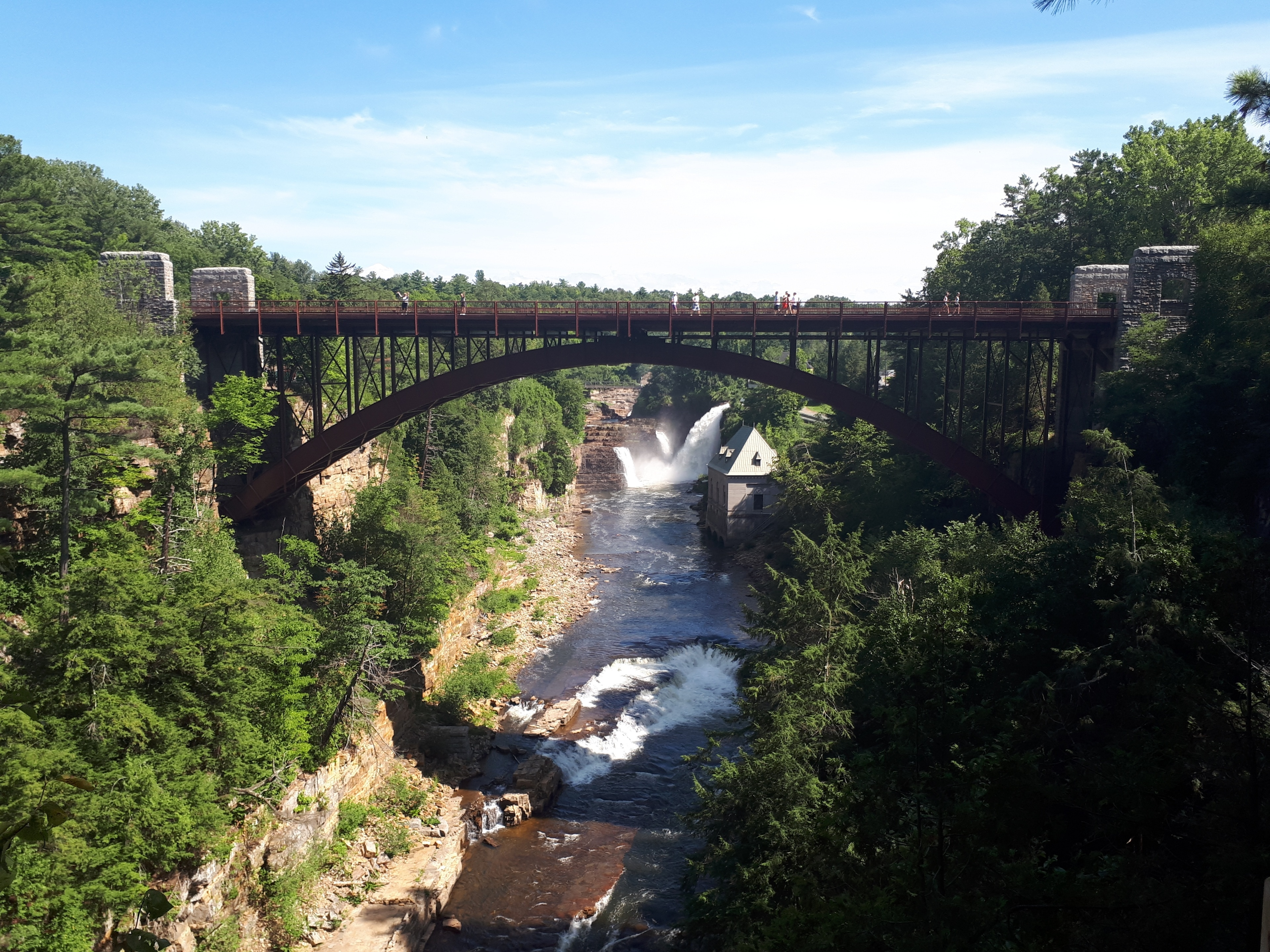 Ausable Chasm, Peru, Keeseville, New York, United States of America