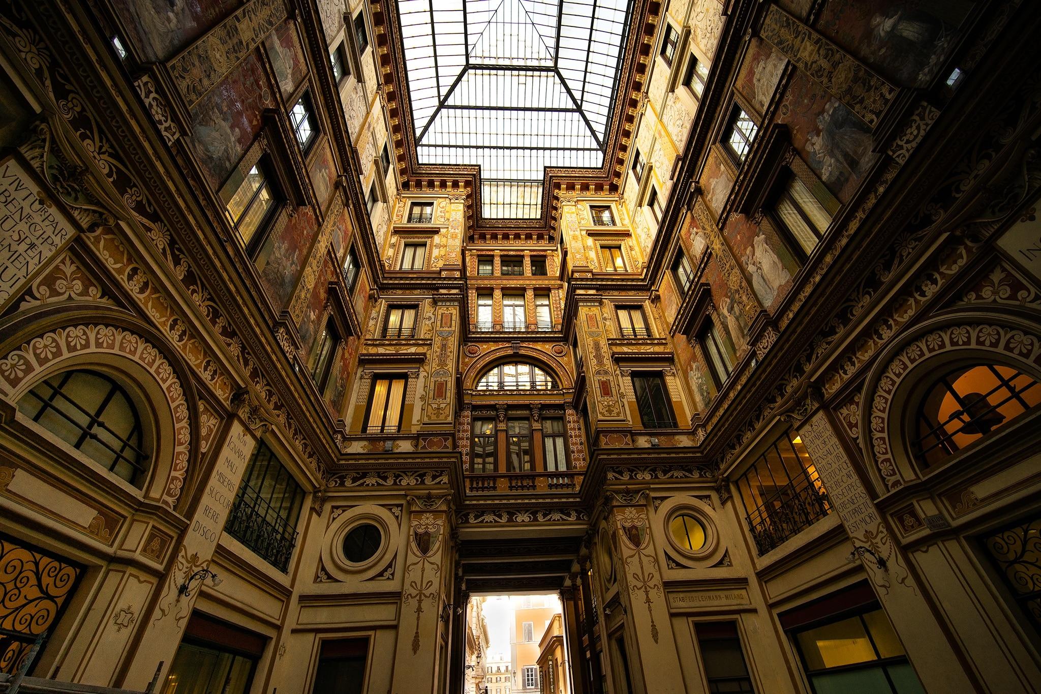 Galleria Sciarra, Rome, Lazio, Italy