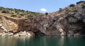 Vouliagmeni gyógyvizű tó