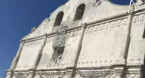 The colonial church of Nicoya
