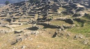 Monte Santa Tecla Celta (ķeltu celtnes drupas)
