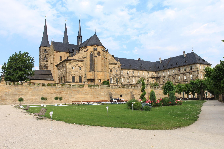 Michaelsberg Monastery, Bamberg, Beieren, Duitsland