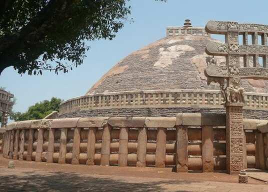 סאנצ'י, הודו