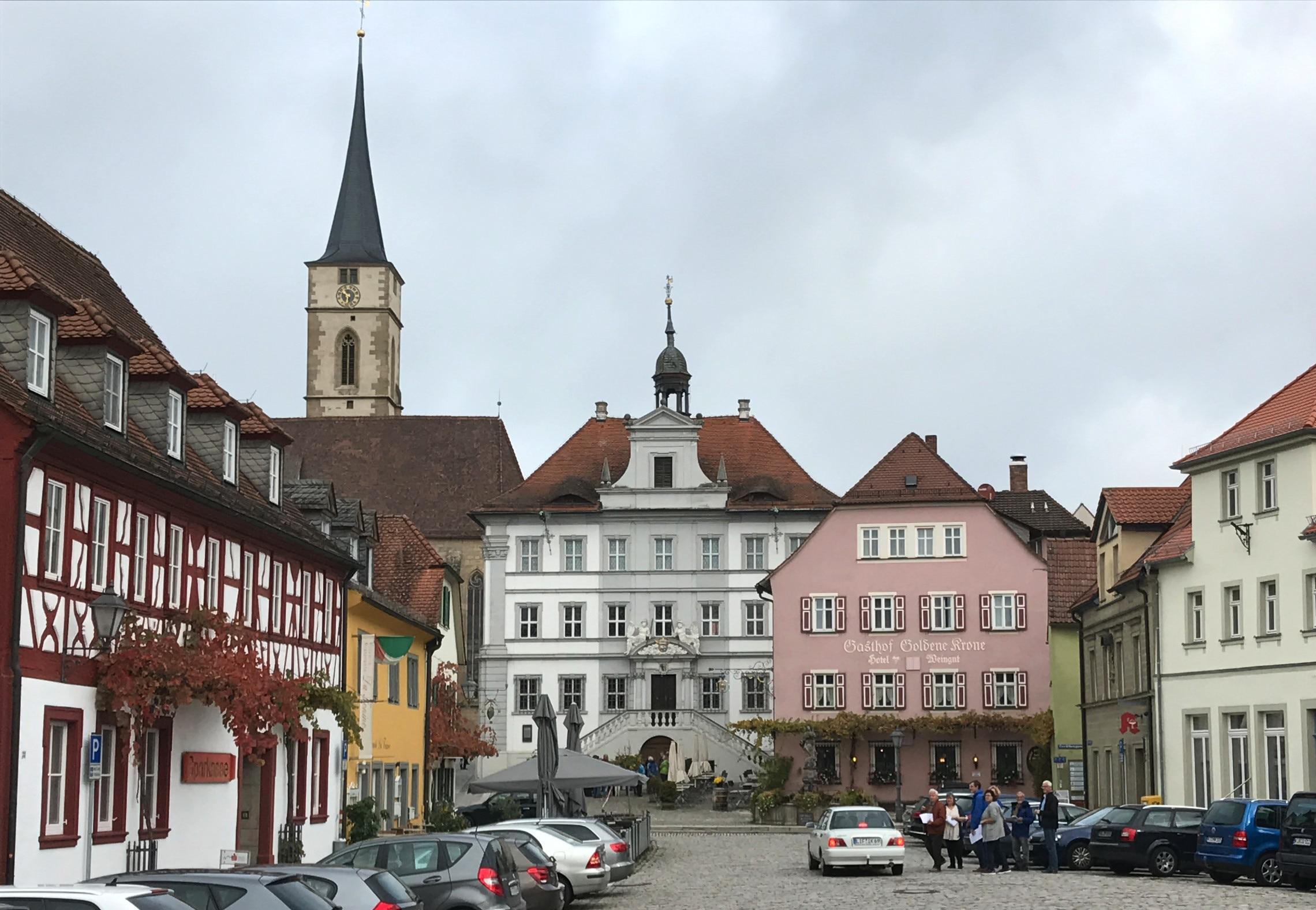 Iphofen, Beieren, Duitsland