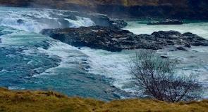Urridafoss Waterfall