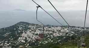 Stoellift bij Monte Solaro