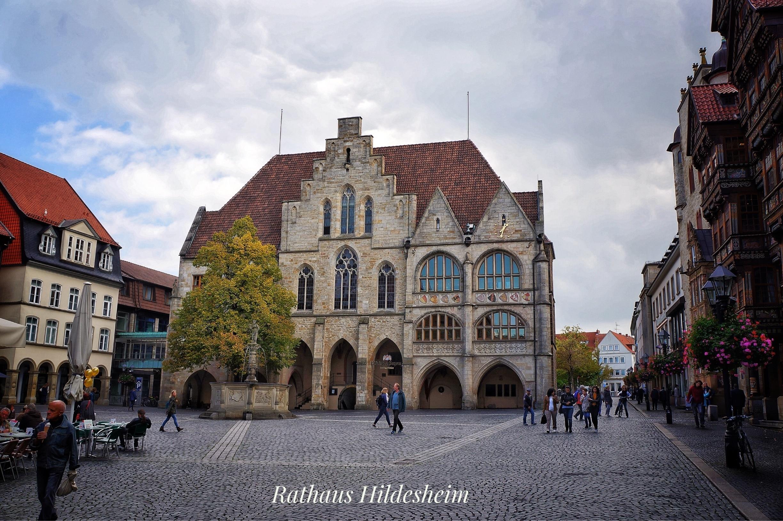 Hildesheimer Rathaus, Hildesheim, Niedersachsen, Deutschland