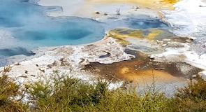 Orakei Korako Geothermal Park and Cave (奥拉克科拉克地热公园与洞穴)