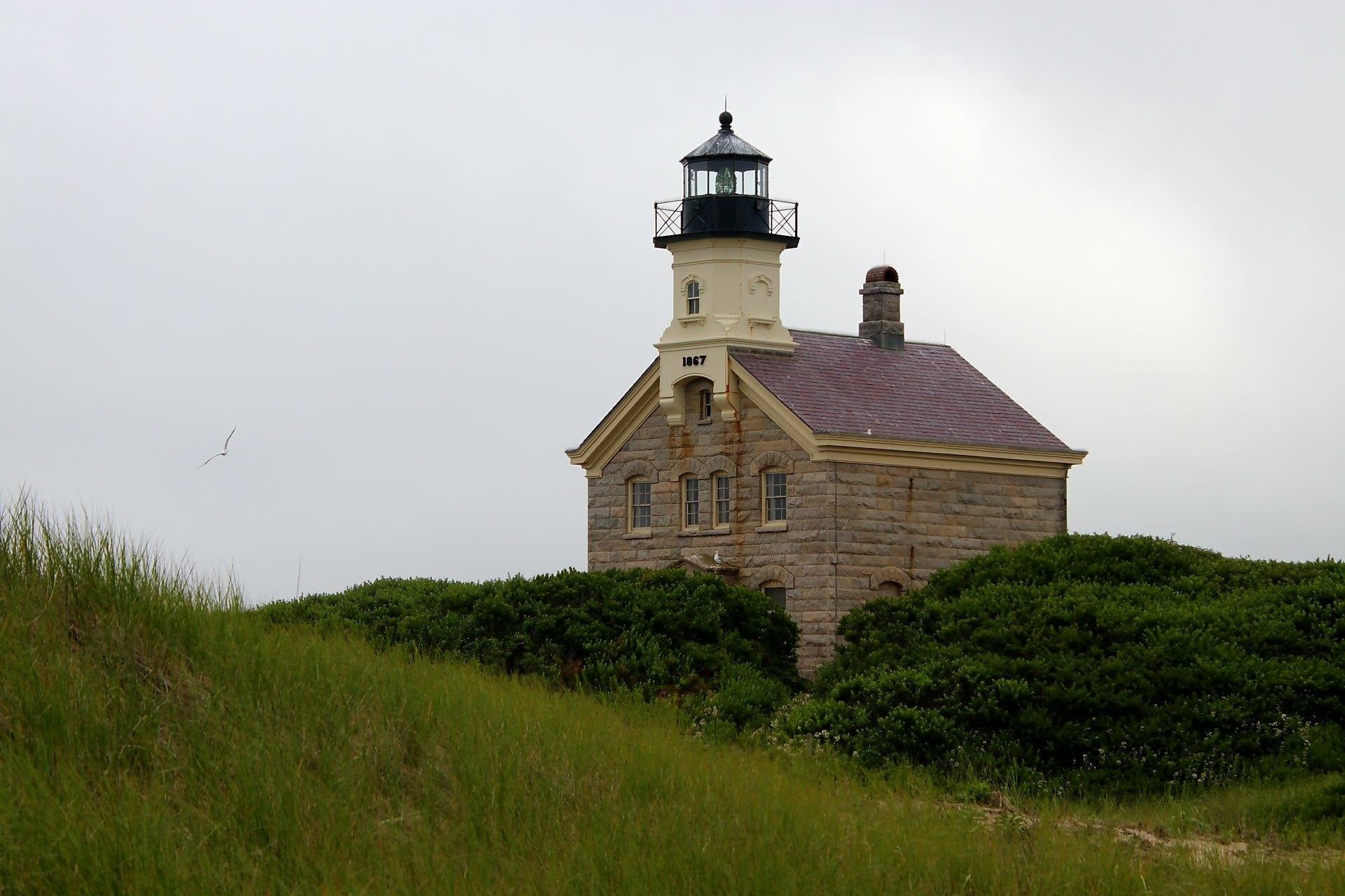 North Lighthouse, New Shoreham, Rhode Island, United States of America