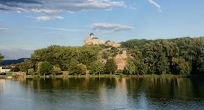 Trencin slott