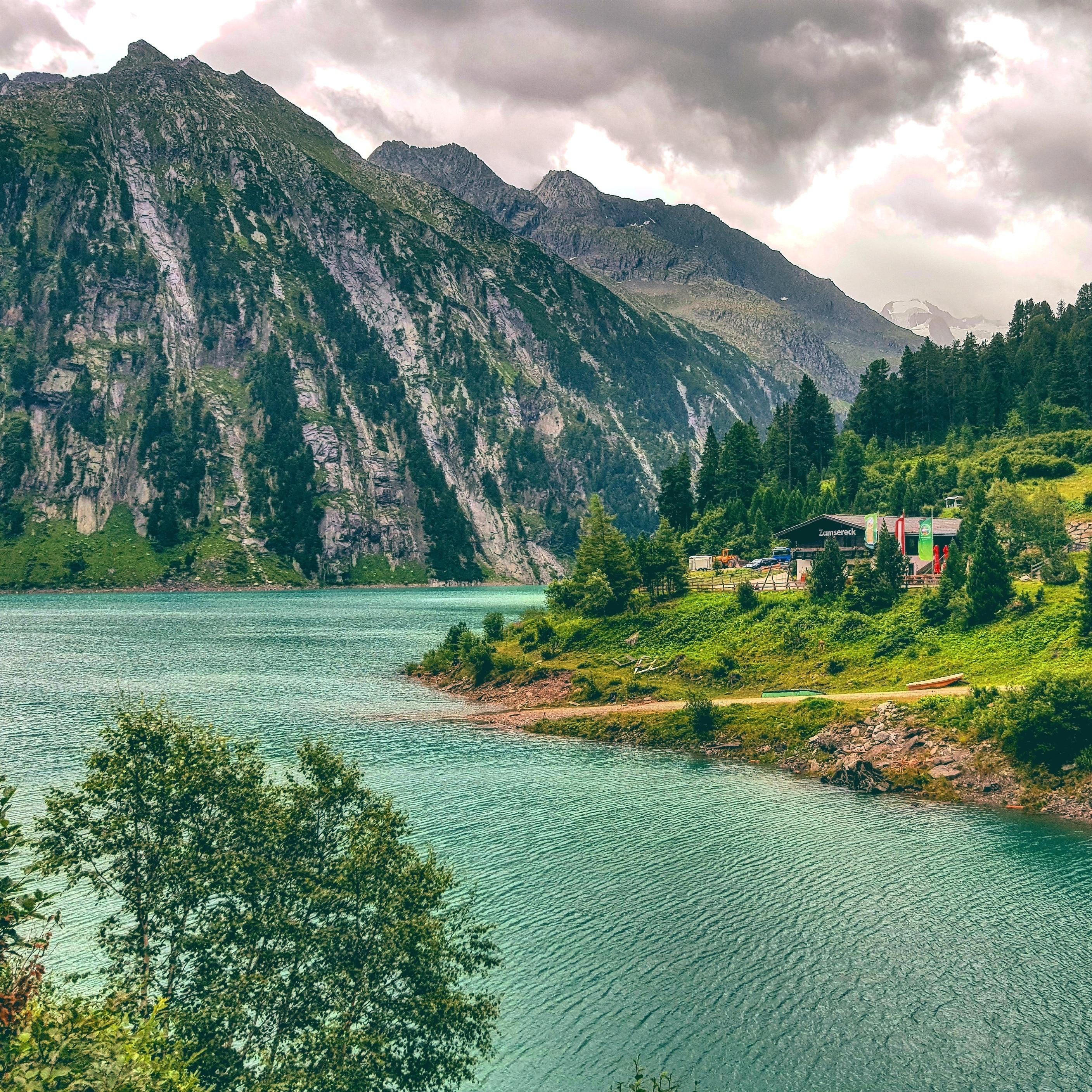 Schlegeisspeicher, Finkenberg, Tirol, Österreich