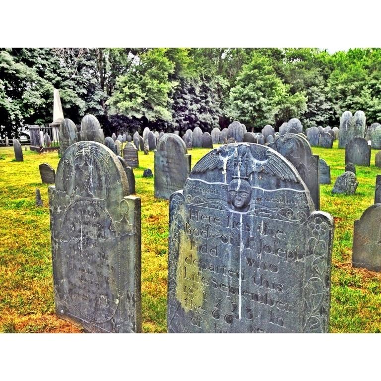Old Burying Ground, Lexington, Massachusetts, Verenigde Staten