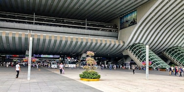 The forecourt of the Shenzhen North