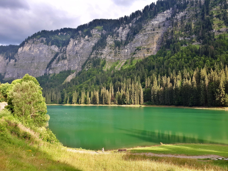 Lac de Montriond, Montriond, Haute-Savoie (Département), Frankreich