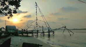 Fort Kochin ranta