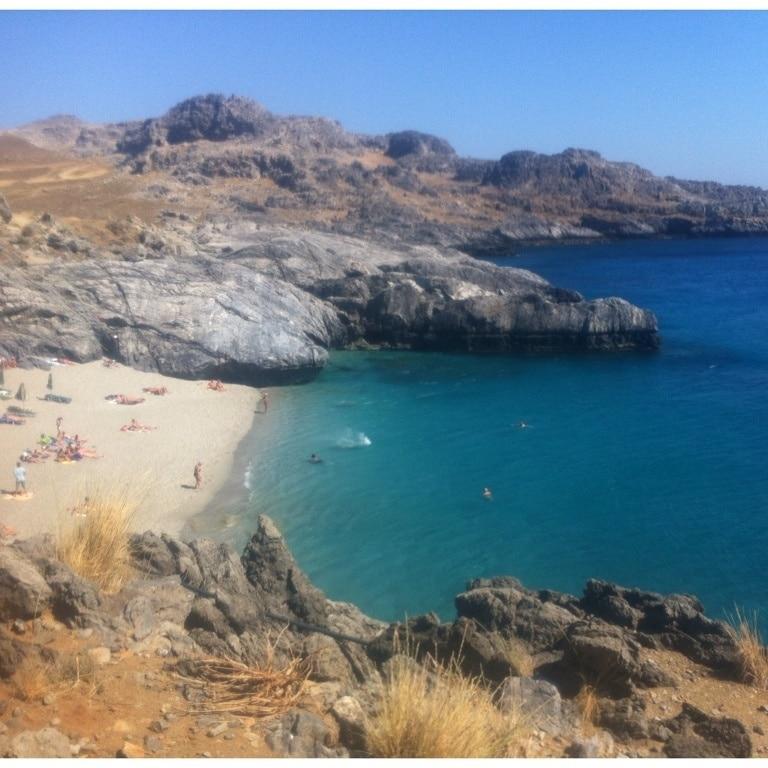 Strand von Plakias, Agios Vasilios, Kreta, Griechenland