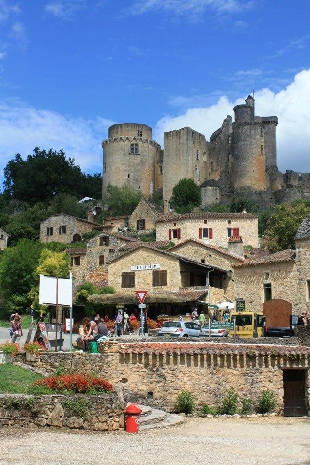 Chateau de Bonaguil, Saint-Front-sur-Lemance, Lot-et-Garonne, France