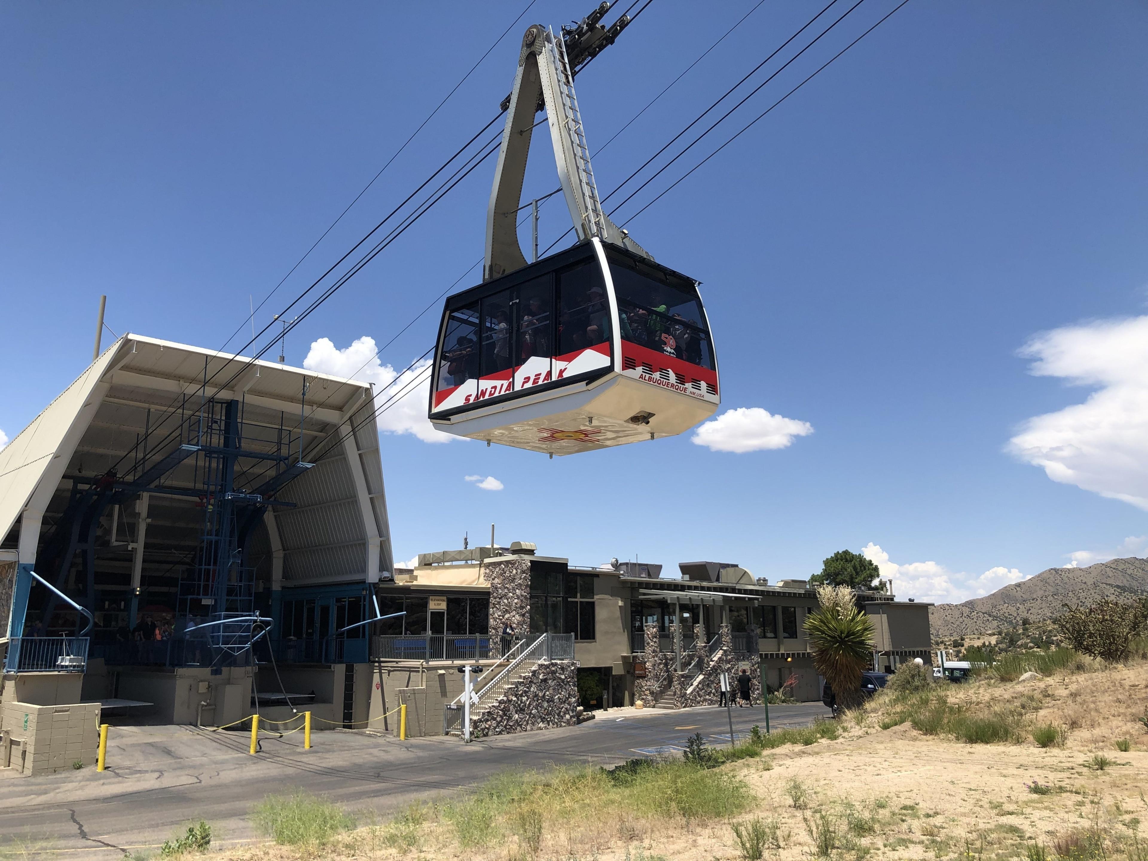 Sandia Peak Ski and Tramway, Albuquerque, New Mexico, United States of America