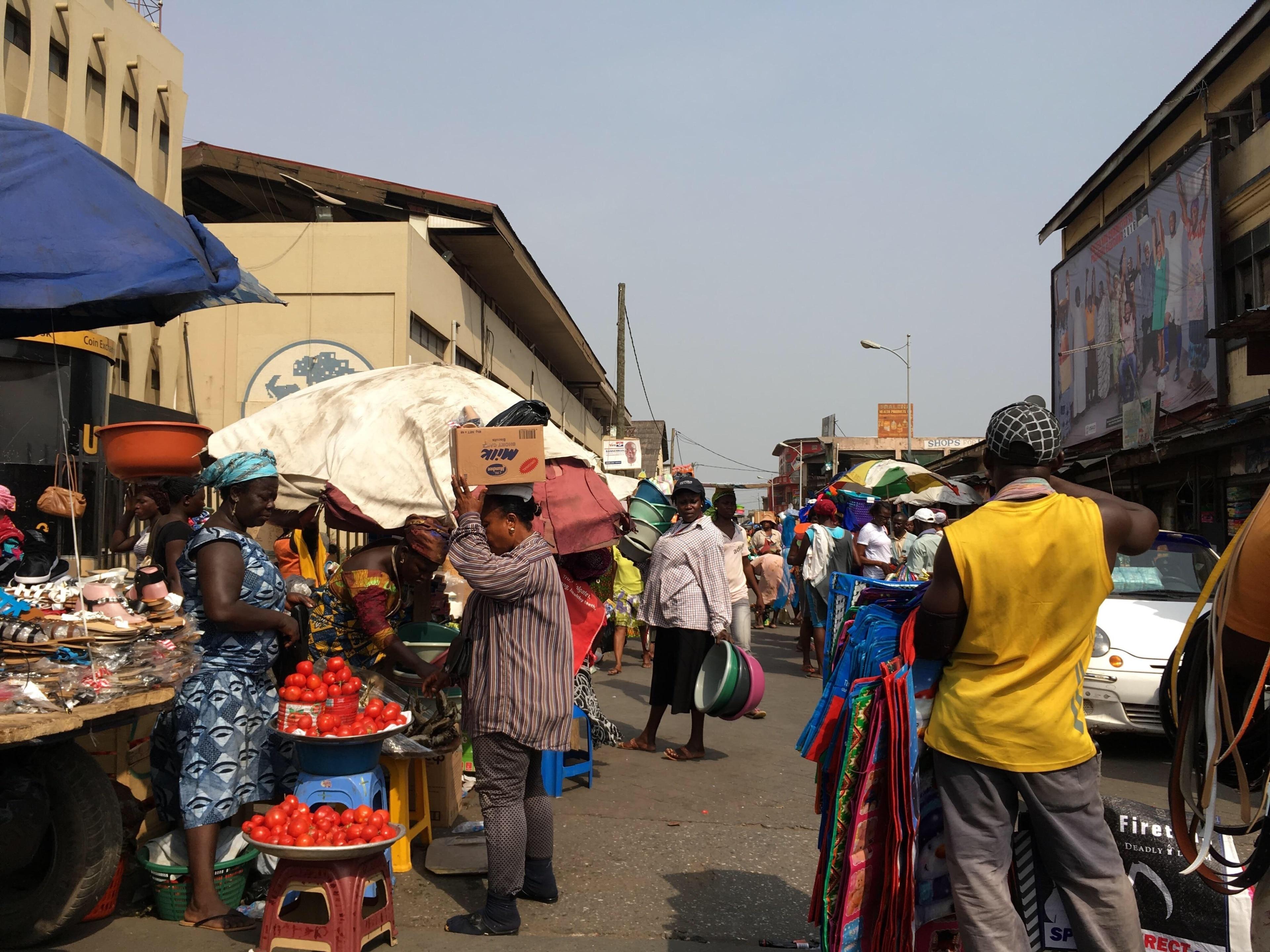 Makola Market, Accra, Accra Region, Ghana
