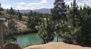 Τεχνητές λιμνούλες Pozos Azules