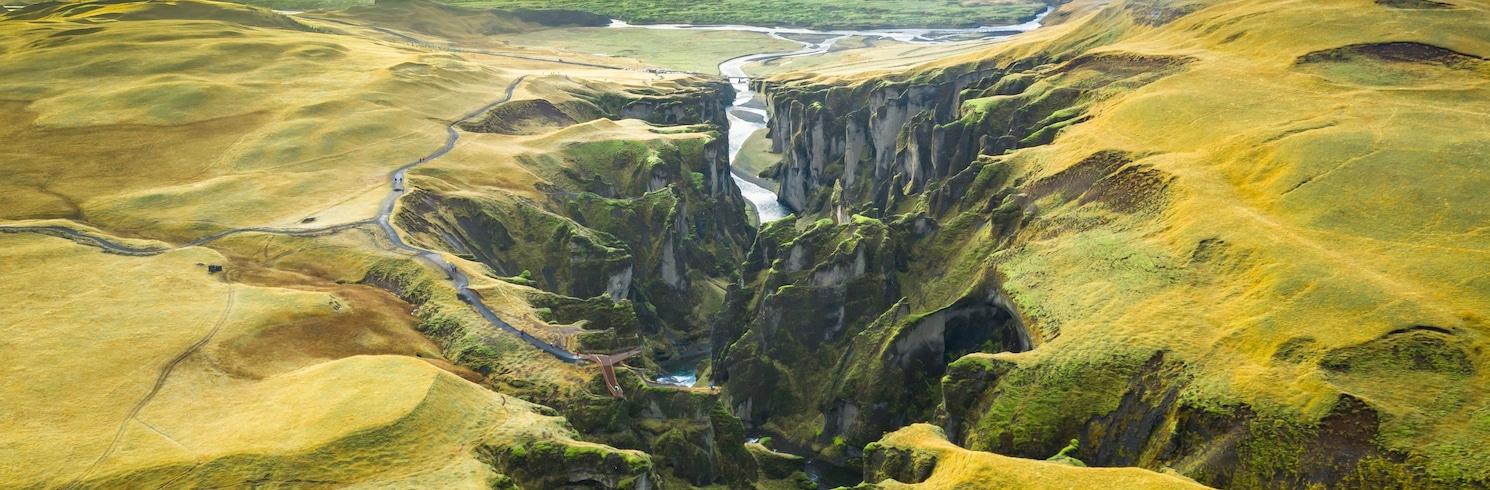 키르큐바에야르클뢰이스튀르, 아이슬란드