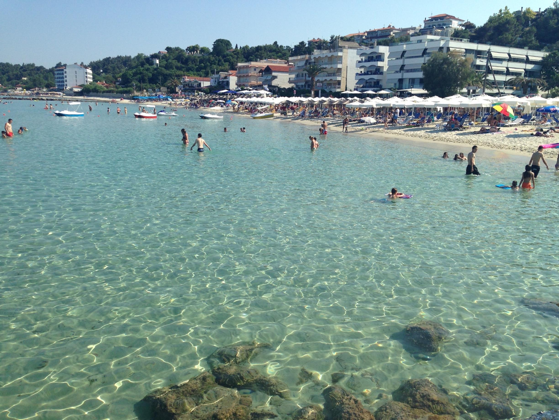 Kalithea Beach, Kassandra, Central Macedonia, Greece