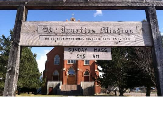 St. Ignatius, Montana, USA